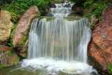 Waterfall garden, Chicago Botanical Garden