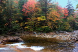 Kancamagus Highway - the pool, fall colors, White Mountains, NH