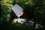 Lincoln-Sentinel Pine covered bridge, Franconia Notch State Park, NH