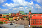 Old Town with the Royal Castle, Warsaw