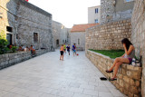 Football and boyfriend, Dubrovnik