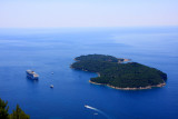 Lokrum Island, Adriatic Sea