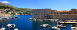 Panorama, Dubrovnik City Harbor, St. John Fortress built by Paskoje Miličević
