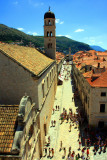 Stradun Street and Dubrovnik Old Town