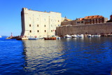 St. John Fortress prevented enemy ships from accessing the City Harbour, Dubrovnik