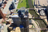 View from the top of Chicago, Sears Tower Skydeck - 311 South Wacker Drive