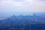 Chicago from an airplane