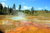 Daisy Geyser, Upper Geyser Basin - Yellowstone National Park