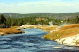 Firehole River, Upper Geyser Basin - Yellowstone National Park