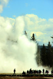 Grand Geyser Eruption, Upper Geyser Basin - Yellowstone National Park