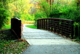 Rock Cut State Park, Illinois - Bridge on the trail