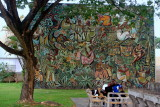 Mural, University of West Indies, Mona campus, Kingston, Jamaica