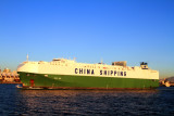 China Shipping bringing cars, San Diego