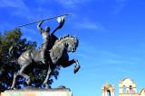 TheEl Cid sculpture, by Anna Hyatt Huntington, Balboa Park, San Diego