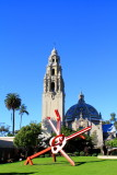 The California Bell Tower and San Diego Museum of Man, Balboa Park, San Diego