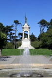 Memorial to Francis Scott Key designed by William Wetmore Story,  Statue, Golden Gate Park, San Francisco, California