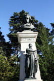 Beethoven statue, copy of the monument found in Central Park, attributed to Henry Baerer,  Golden Gate Park, San Francisco, Cali