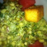 Moong, Watermelon and paneer salad - Dosa, San Francisco