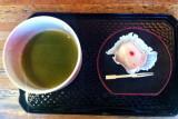 Tea at the Japanese Tea Garden, San Francisco, California
