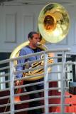 Musician, Hyde Street Pier, San Francisco Maritime National Historical Park, San Francisco
