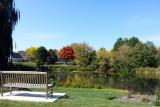 Bench, Lakeshore community, Palatine, IL