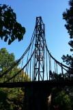 Chicago Botanic Garden - Model Railroad Garden, Golden Gate bridge