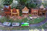 Chicago Botanic Garden - Model Railroad Garden, Main Street, USA