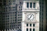 Clock Tower, Wrigley Building, Chicago view from Kemper Building, Chicago, IL - Open House Chicago 2012