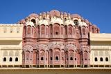 Hawa Mahal, From the back