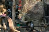 Sugarcane is crushed using this machine, Uttar Pradesh