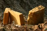 Jaggery is cut into blocks and sold, Uttar Pradesh