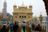 Entering the Sanctum Sanctorum, Golden temple, Amritsar, Punjab