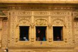 Golden windows, Golden temple, Amritsar, Punjab
