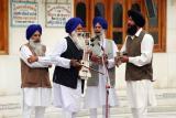 Religious singers, Golden temple, Amritsar, Punjab