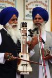 Singing with passion, Amritsar, Golden temple, Amritsar, Punjab