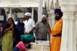 More devotees, Golden temple, Amritsar, Punjab