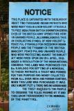 Important notice, Jallianwala Bagh Memorial, Punjab