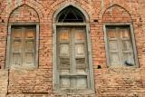 The bullet ridden walls and windows, Jallianwala Bagh Memorial, Punjab