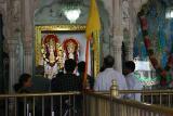 The Laxmi Narayanan idols inside, Durgiana Temple, Amritsar, Punjab