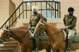 BSF men on Horses, Wagah Border, Punjab