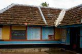 Slanting roofs, Melarkode, Kerala