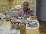 Zocchi-Croisier ,my landlord, a charming and gorgeous lady who treat me the breakfast