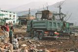 Earthquake damage in Bagh