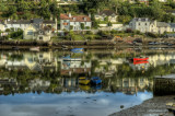 Newton Ferriers from Noss Mayo HDR .jpg