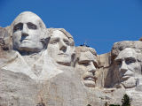 MOUNT RUSHMORE , SOUTH  DAKOTA