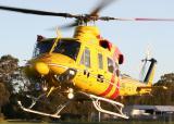 VH-RHS - Westpac Rescue Bell 412 - Medowie 10 Dec 05