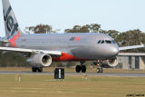 VH-VQT - Airbus A320 - Williamtown 2 Jul 06