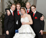 Jo with her brothers