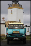 Thames Trader  parked at Stenness lighthouse