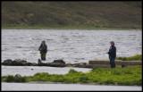 Fishermen at Loch of Tingwall